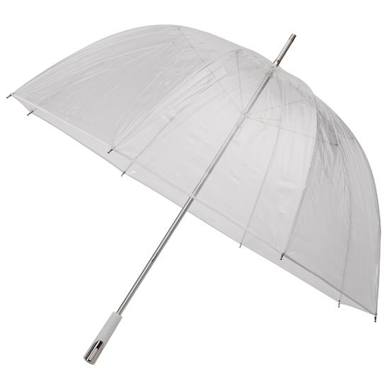 1b8ca4ac4b62 See Through Deluxe White Golf Sized Umbrella | See Through Clear ...