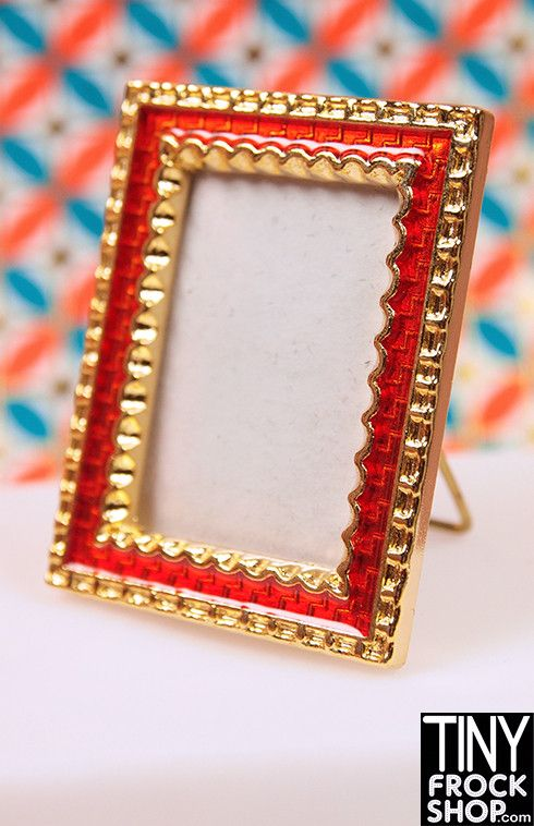Barbie Mini Enameled Picture Frame - Tiny Frock Shop