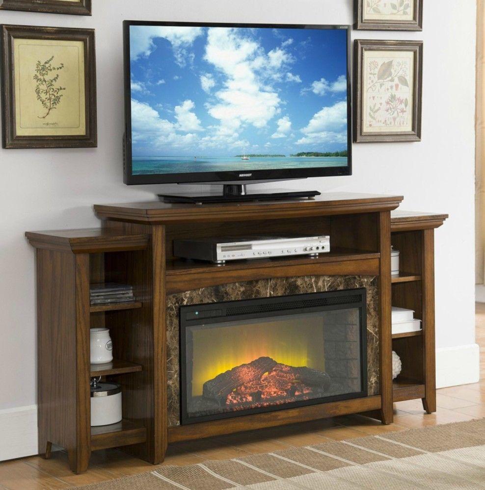 Super Electric Fireplace Entertainment Center Antique Wood Faux Home Interior And Landscaping Ponolsignezvosmurscom