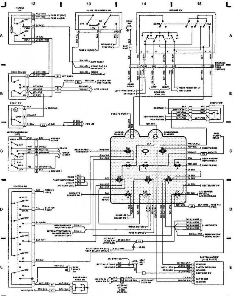 Engine Wiring Diagram Jeep Tj Diesel di 2020 (Dengan