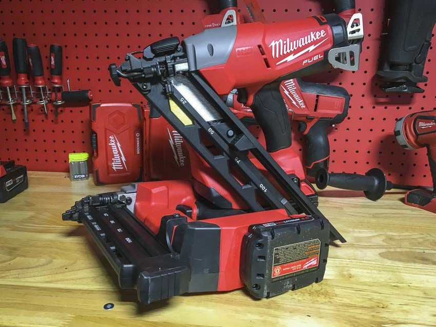 Milwaukee M18 15 Gauge Angled Finish Nailer Review Milwaukee Milwaukee Tools Finish Nailer