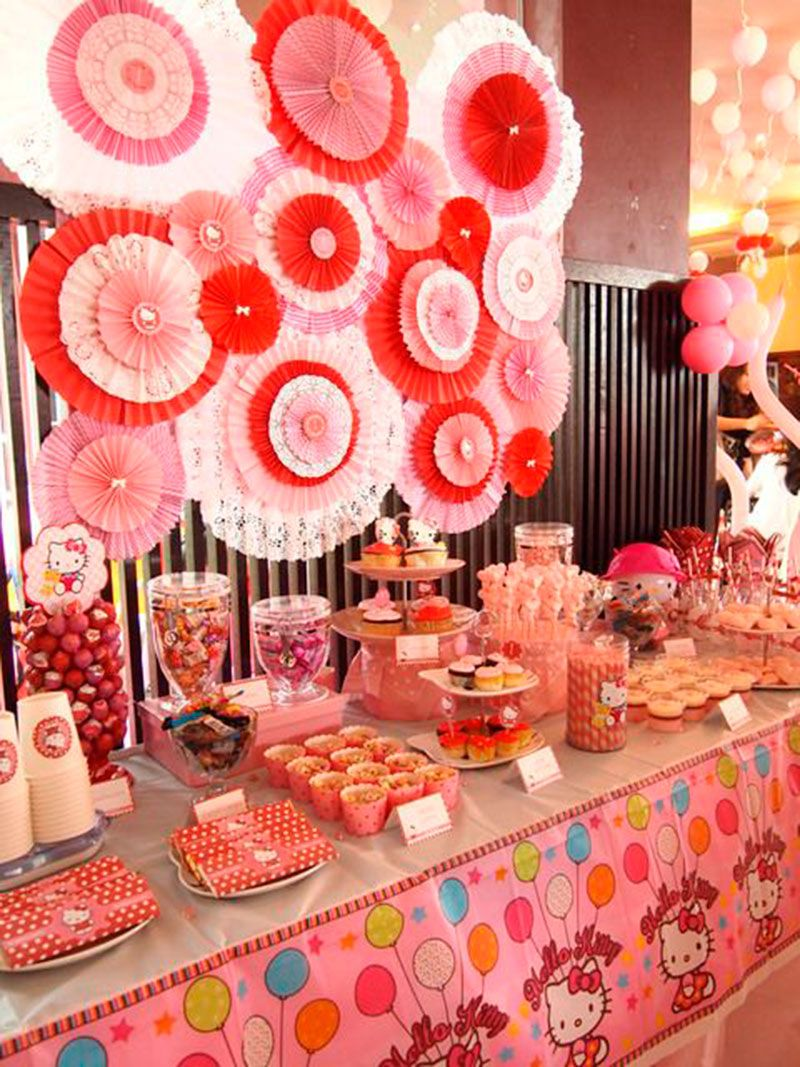 70 Inspiraes de festas infantis da Hello Kitty Hello kitty and