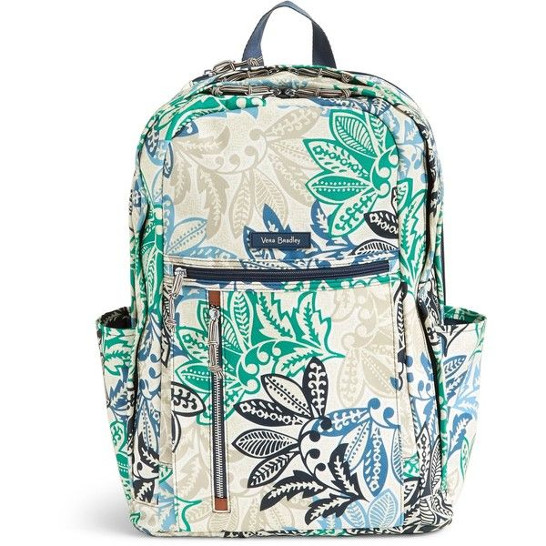 2de4e09bcf60 Vera Bradley Lighten Up Grand Backpack ( 108) ❤ liked on Polyvore featuring  bags