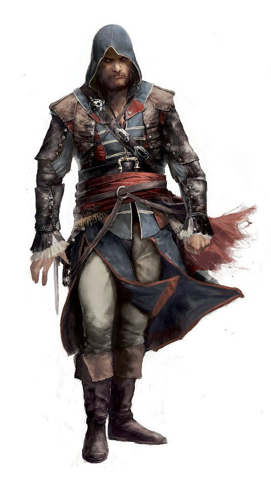 Edward Kenway Wearing Duncan Walpole S Robes Concept Art