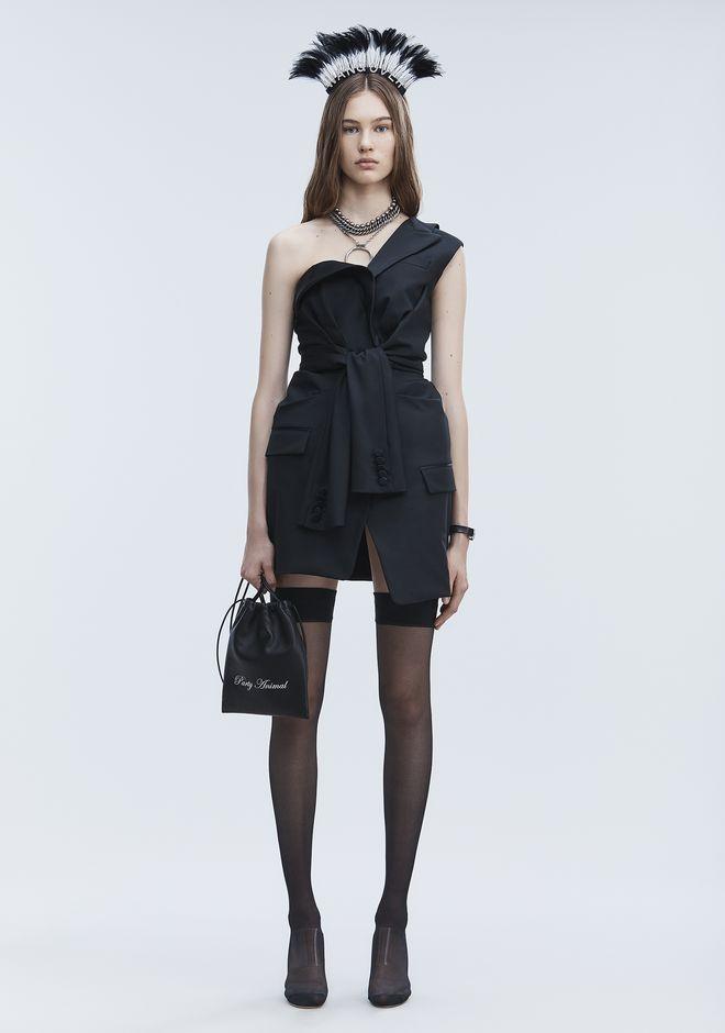 e6db444ff7b ALEXANDER WANG TUXEDO DRESS Short Dress Adult 12 n f