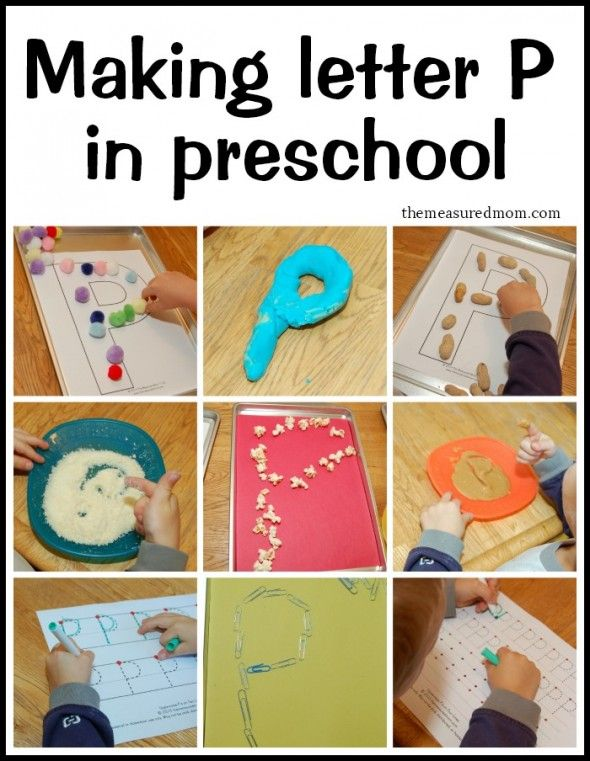 Creative Ways To Write Letter P  Creative Activities And School