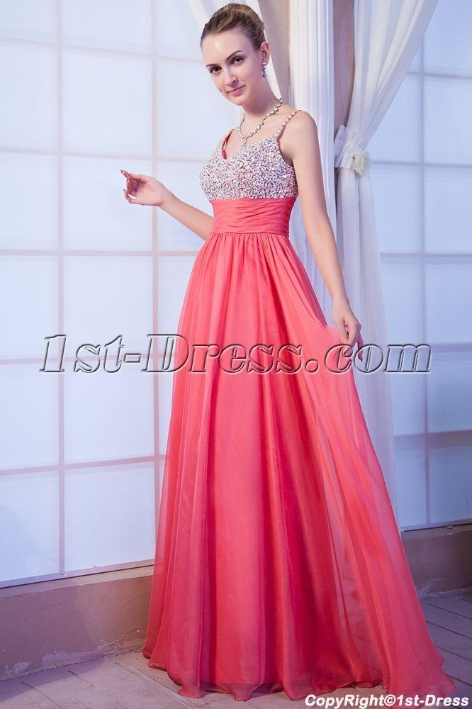 c7d3cf89afd Low Back Plus Size Coral Formal Evening Dress IMG 9951 1st-dress.com ...