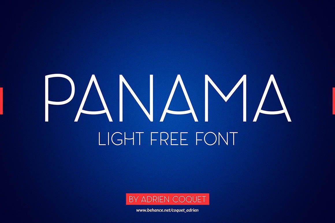 Panama Light – Free Font