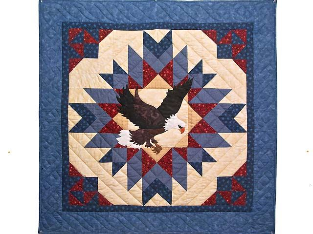Cardinal Pattern For Quilting American Eagle Quilt