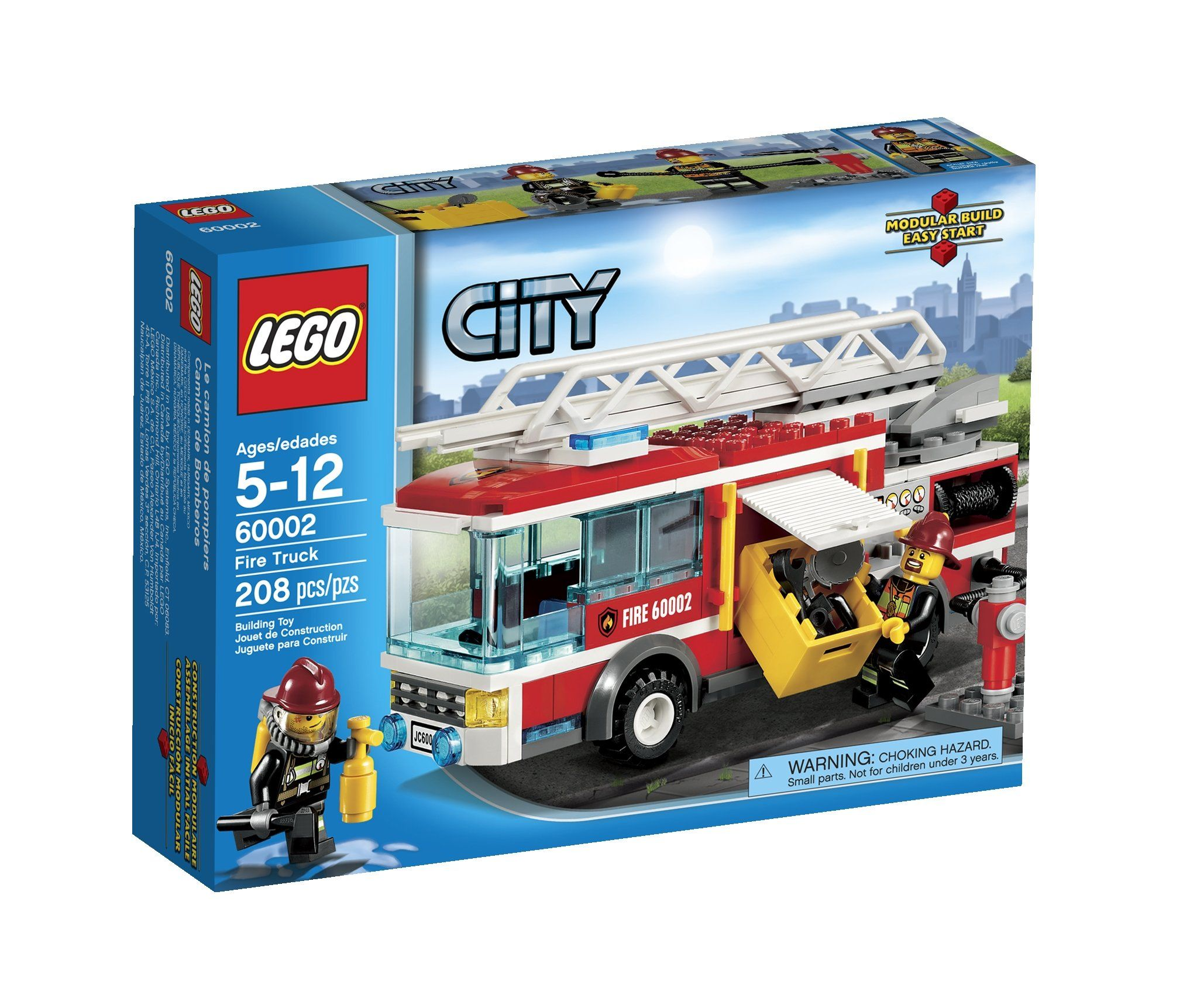 Amazon Com Lego City Fire Truck 60002 Toys Games Lego City Fire Lego City Fire Truck Fire Trucks