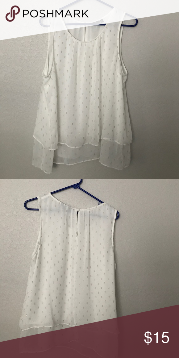 Dressy top Gently worn like new Tops Blouses