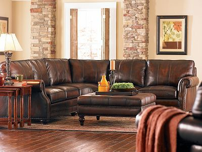 Leather living room sectional   Stuff to Buy   Pinterest   Muebles ...