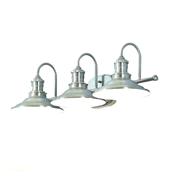 Lowes Bathroom Light Fixtures Brushed Nickel Lighting