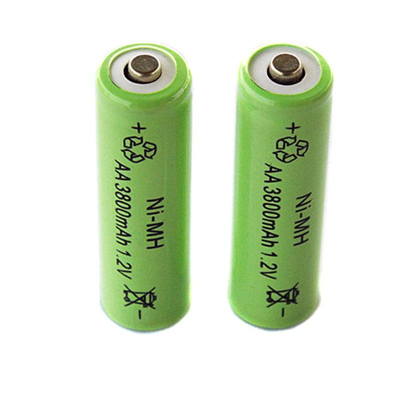 2 Pieces Lot Aa Rechargeable Battery Pointed 3800mah 1 2v Ni Mh Batteries For Remote Remote Control T Rechargeable Batteries Remote Control Toys Remote Control