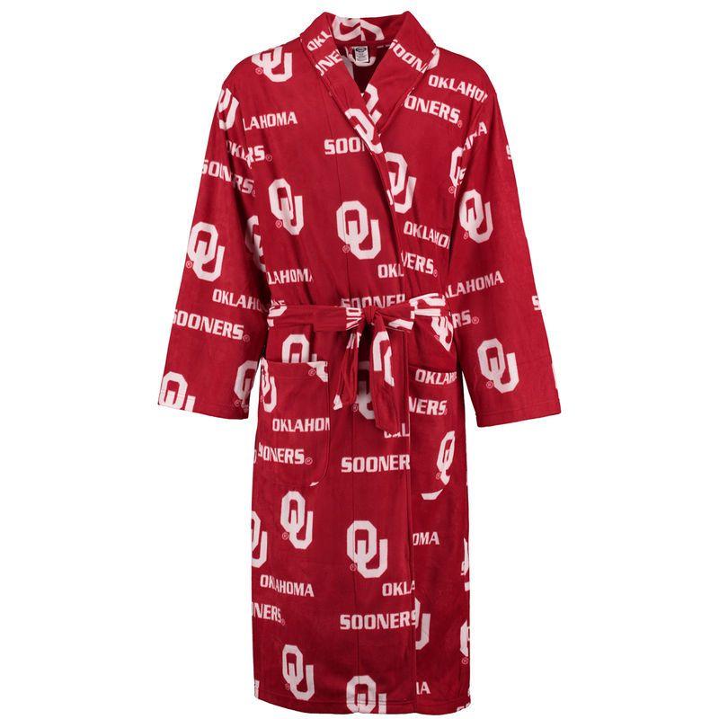 Oklahoma Sooners Concepts Sport Façade Robe - Crimson