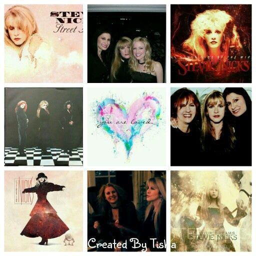 Stevie Nicks Collage Created By Tisha 05/23/15
