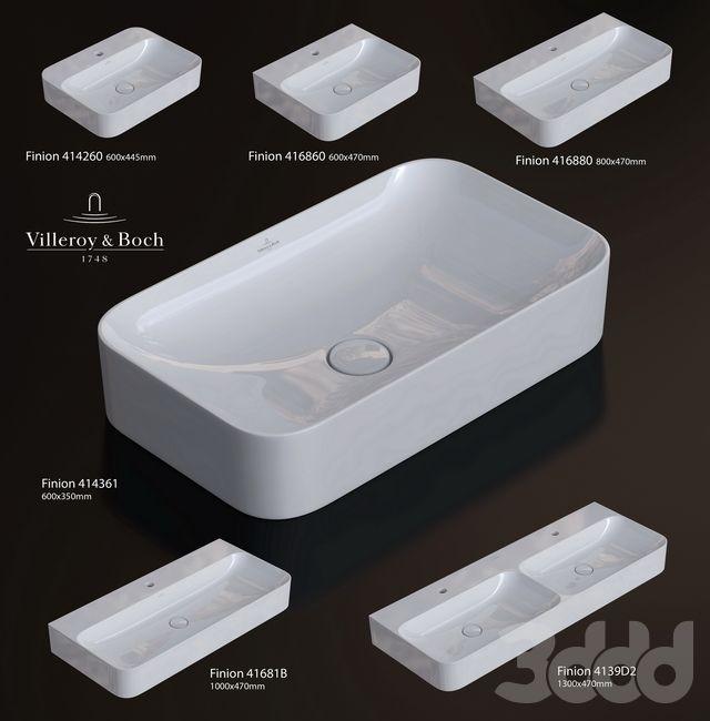 Villeroy Boch Finion Gaste Wc Waschbecken Badezimmer