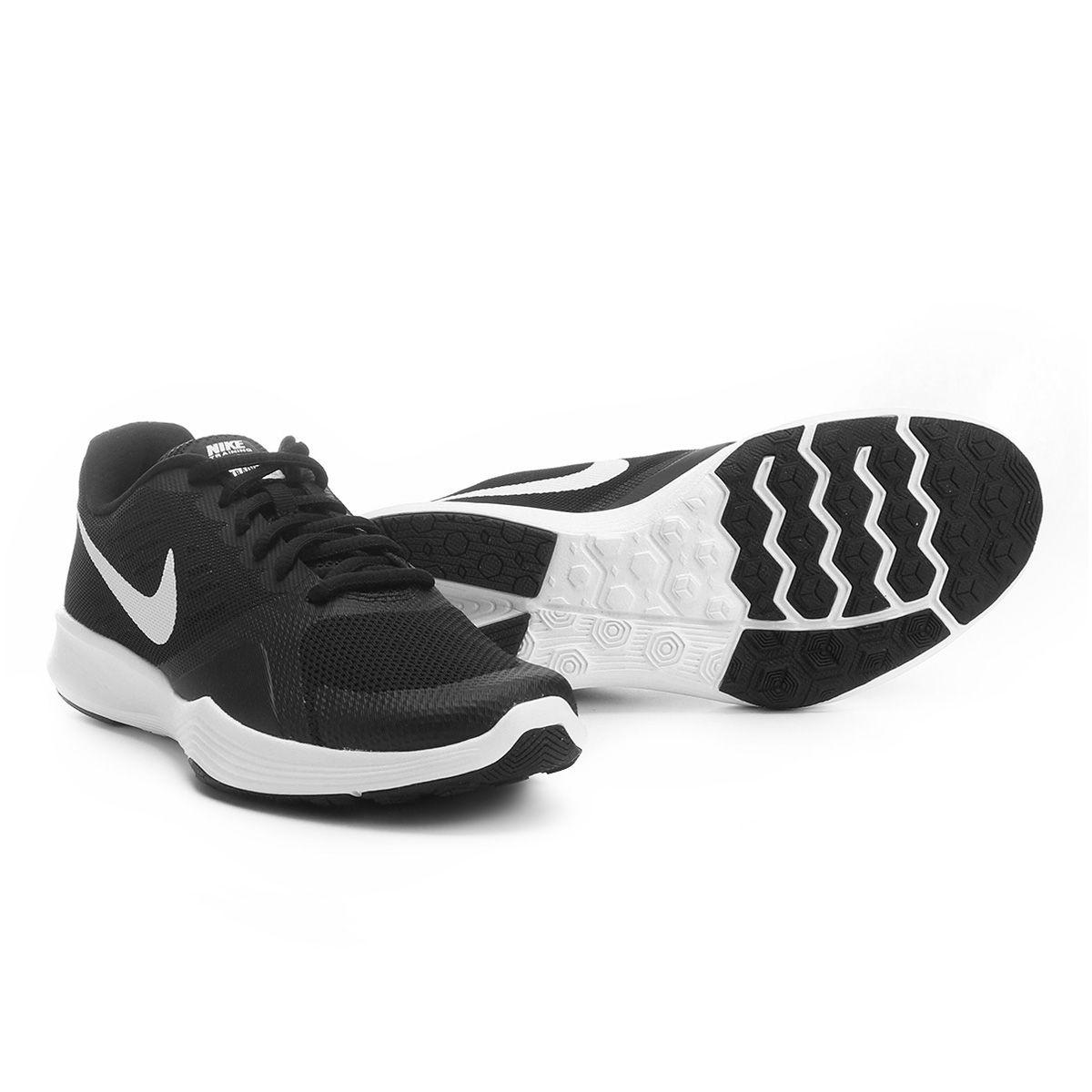 Com o Tênis Nike City Trainer Feminino Preto e Branco você tem uma  performance melhor durante