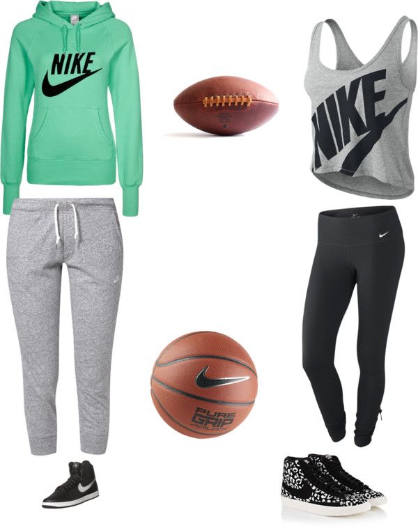 """""""sports"""" by hannah-burling ❤ liked on Polyvore"""