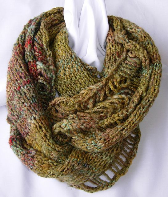 sweetgrass-cowl3 by RJRS, via Flickr | Knit. | Pinterest