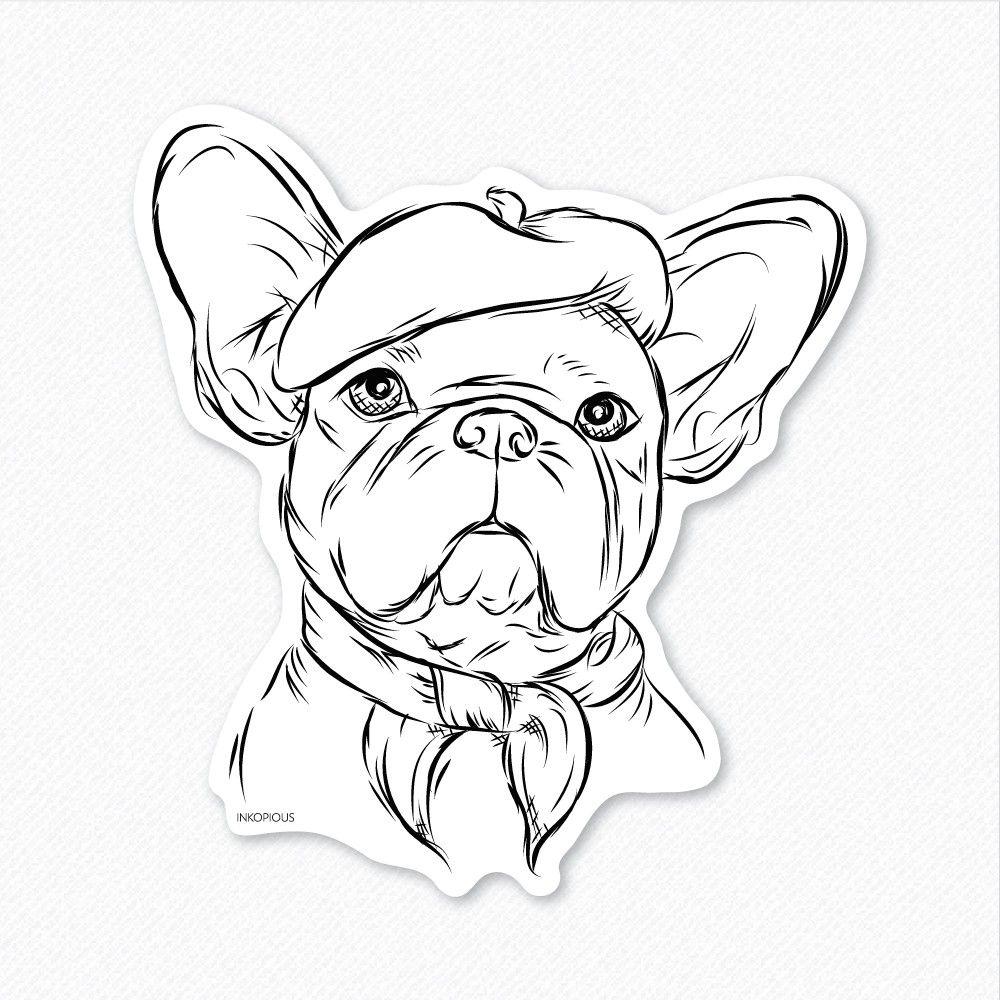 french bulldog drawing Google otsing (With images