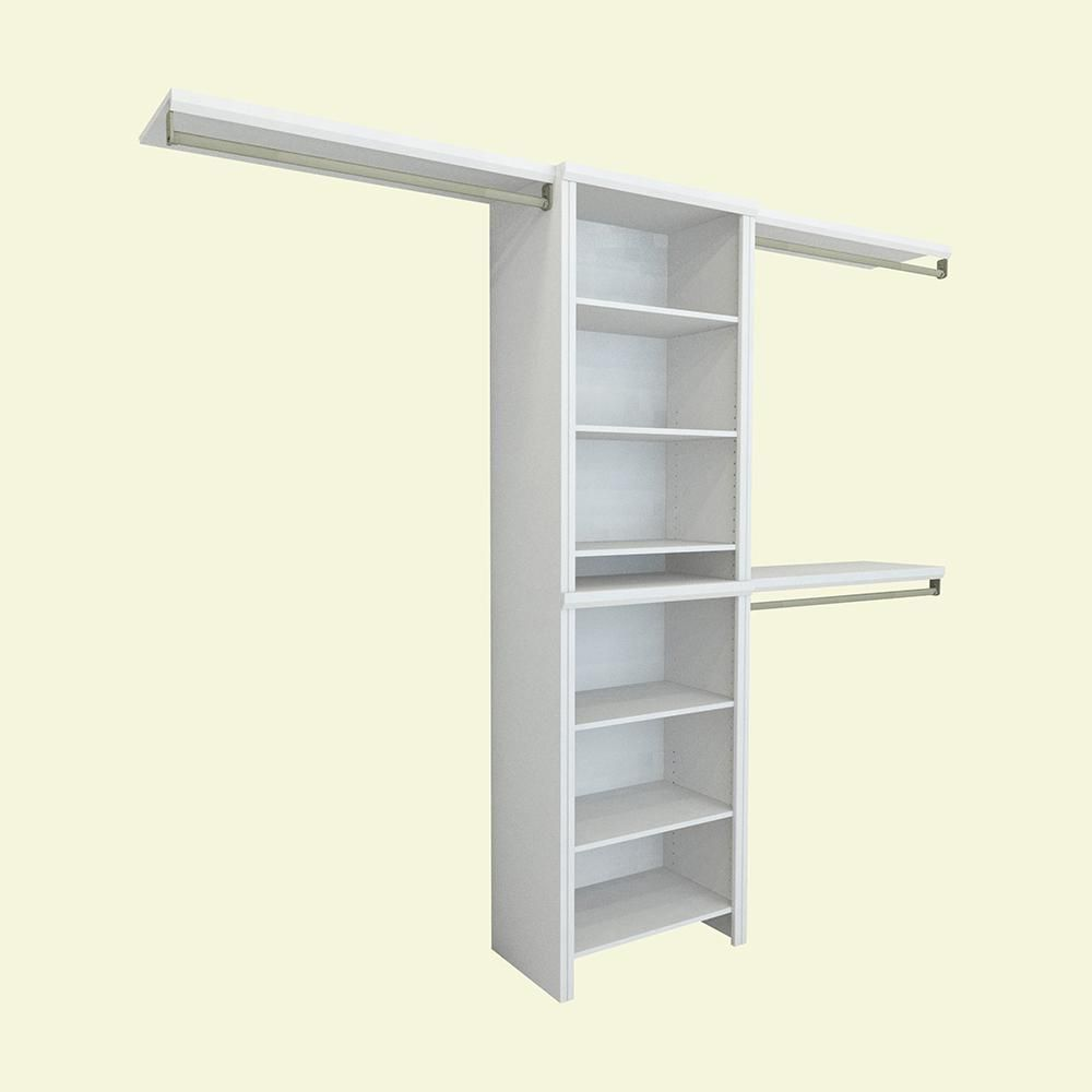 Closetmaid Impressions Jpg 1000x1000 Laminate Closet Shelving Systems