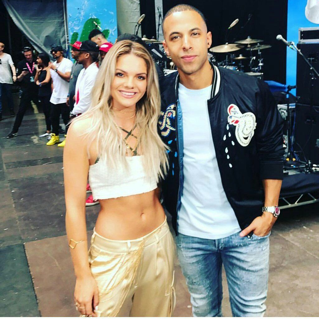 Marvin Humes con Louisa en su cuenta personal de Ig hoy en  #CapitalSTB https://t.co/9jmic3824T - Louisa Johnson Mex