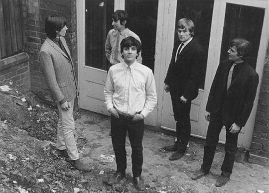1 1965 Pre Pink Floyd The Tea Set With Rado Bob Klose