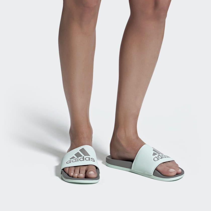 adilette comfort slides women's