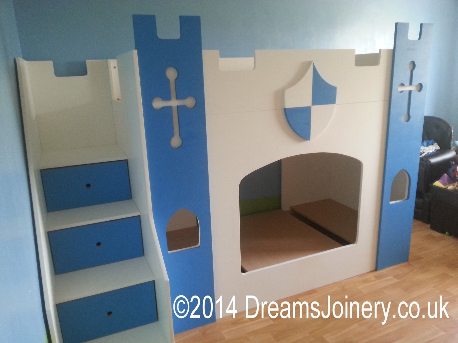 Kinderbett Ritter Knights Castle Prince Princess Bunk Or Cabin Bed In Home