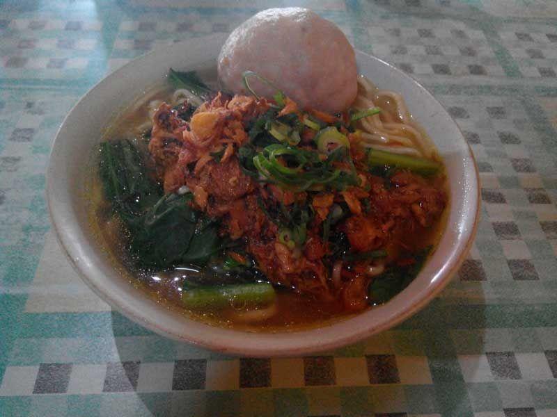 Mie Ayam Bakso Telur Kuah Banjir Perpaduan Pas Dengan Sensasi