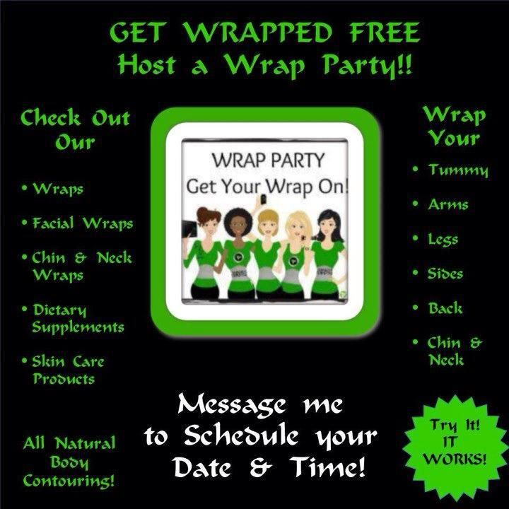 It Works Wrap Party Flyer   Wrapping The Lake, It Works! Style ...
