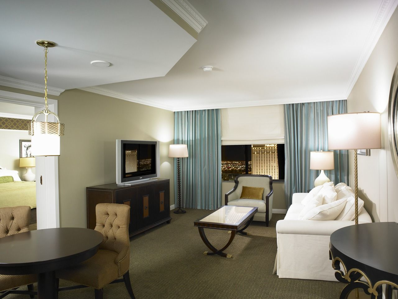 Mirage One Bedroom Tower Suite Contemporary Tower One Bedroom Suite Living Room Around The