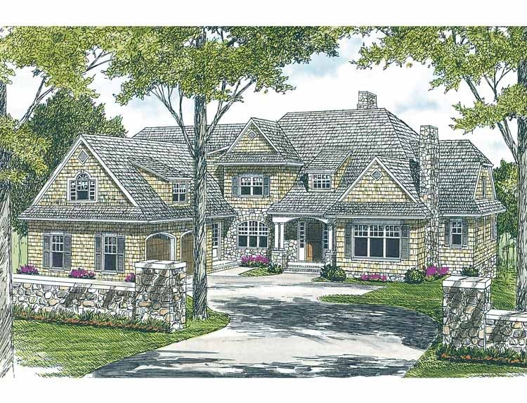 Cottage House Plan With 6589 Square Feet And 5 Bedrooms From Dream Home  Source | House