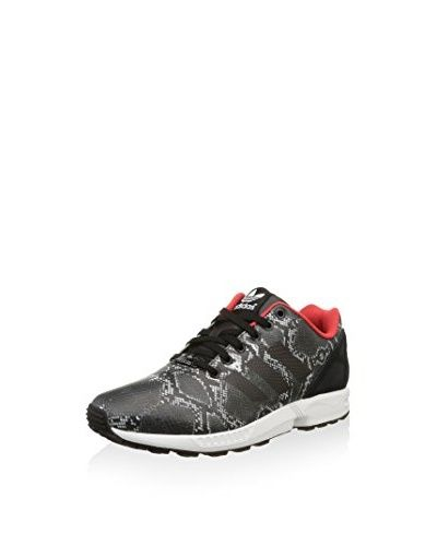 separation shoes 336fd 11d7f adidas Sneaker Zx Flux W  Grigio Nero