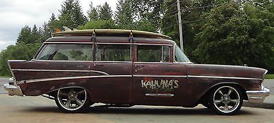 ... Station Wagon 1957 Chevy 210 4 Door Station Wagon Rat Rod. iv always said that you CAN make a four look cool if you want to.