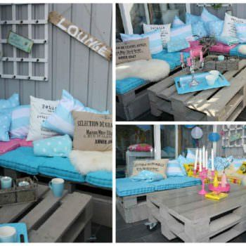 Terrace Lounge From Recycled Pallets