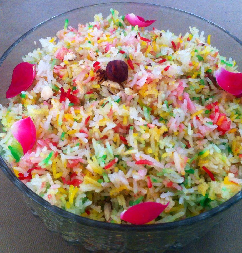 Pakistani sweet rice ( mutanjan)   Pakistani desserts ...