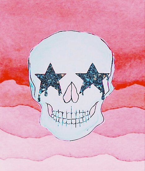 Star Skull Poster by caseyallenn