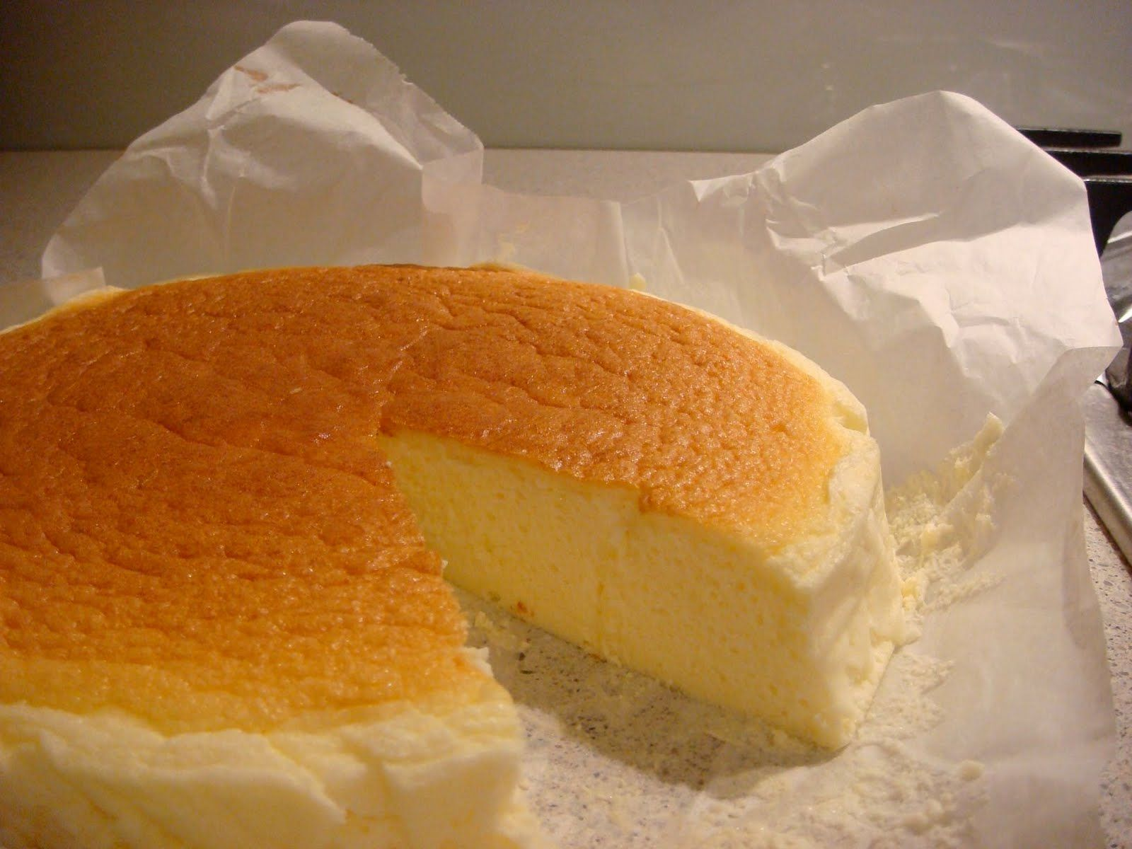 Japanese Cheesecake Just Pound Cake