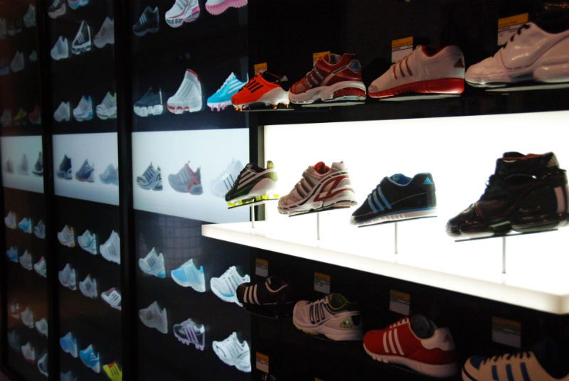 Looking to bring the interactive online shopping experience to brick and  mortar locations, adidas has unveiled a brand new in-store virtual shopping  wall.
