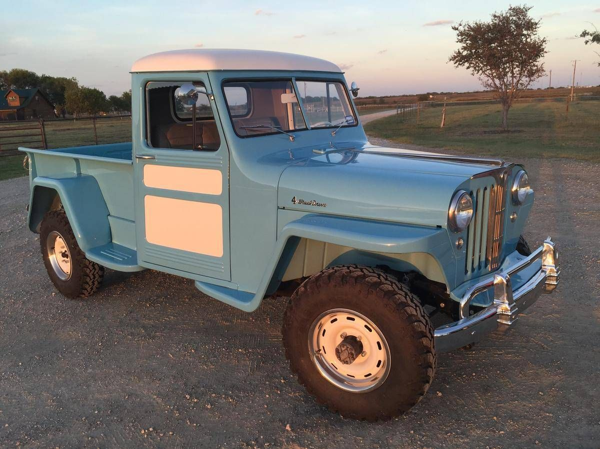1949 willys pickup for sale 1887431 hemmings motor news jeep willys pinterest jeeps. Black Bedroom Furniture Sets. Home Design Ideas