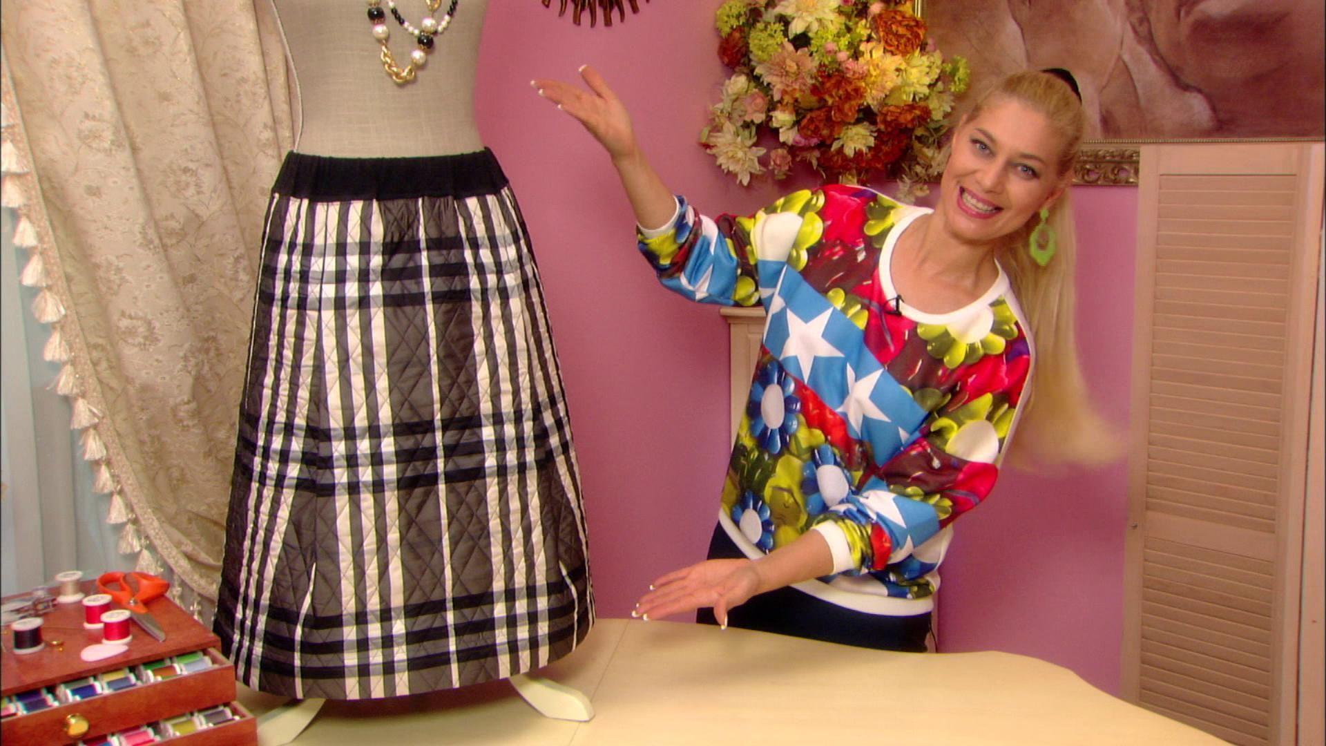 Учимся быстро и без выкройки по видео урокам шить платье своими руками 77