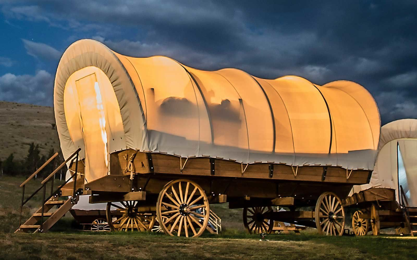 You Can Go Glamping Oregon Trail Style In Yosemite S New Covered