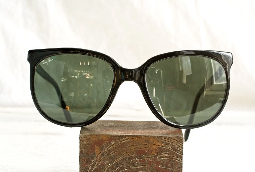 f9499b4451c ... order vintage ray ban cats sunglasses oversized blackout 1000 polarized  made in france by bausch and