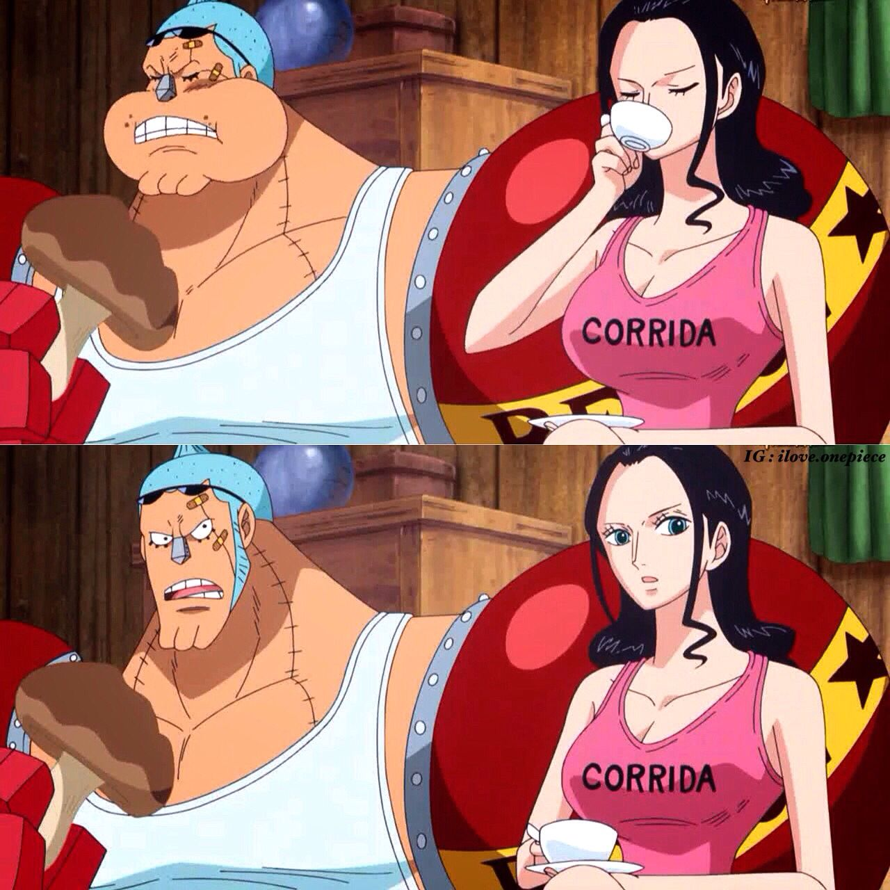 Franky and Robin