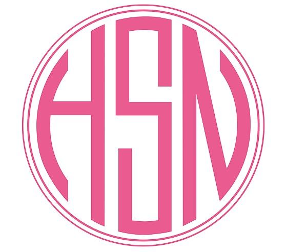Monogram Decal Monogram Decal Hobbies For Kids Bed Gifts