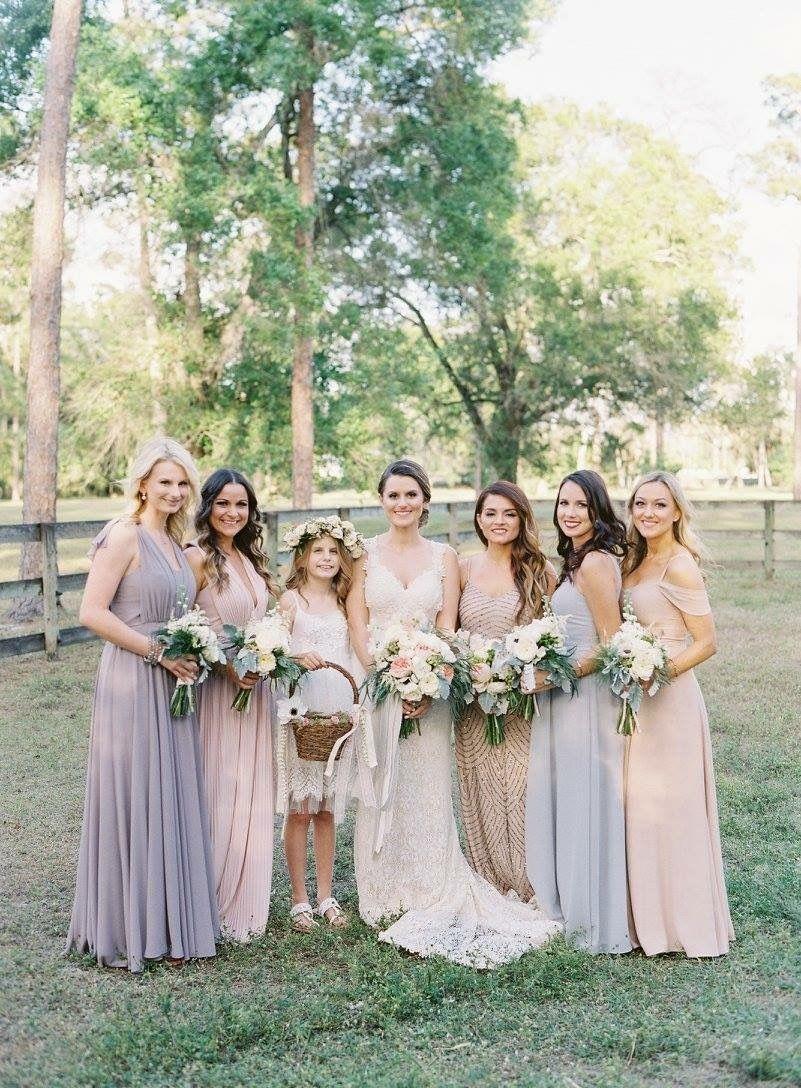 Bridal party mixed bridesmaid dresses different color bridal party mixed bridesmaid dresses different color bridesmaid dresses ombrellifo Choice Image