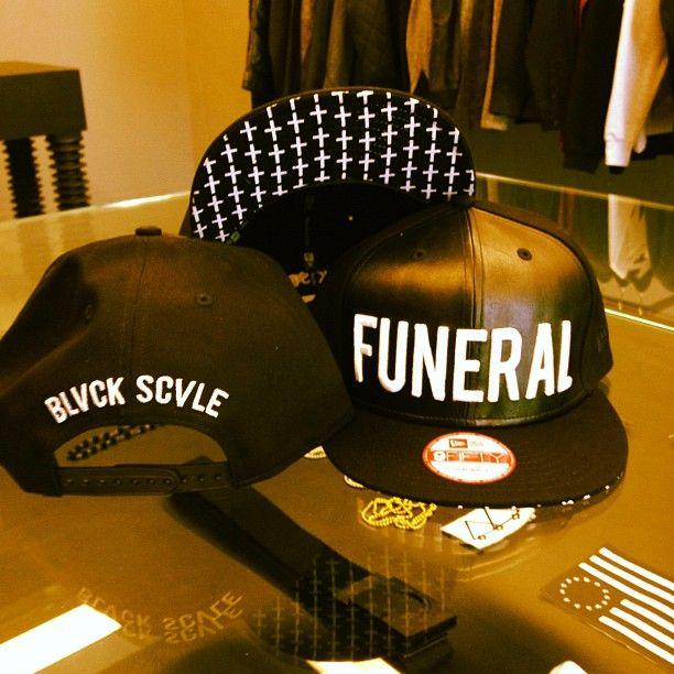 b914d492f7bc6 Black Scale Funeral Snapback asap rocky