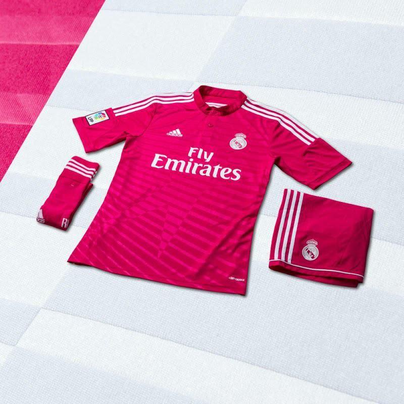 adidas Real Madrid Away Jersey 14 15 - Blast Pink  b80f0e58d